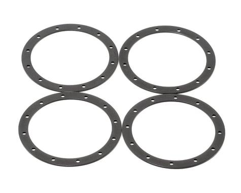 Team Associated Bead Guard Ring (Black) (4)
