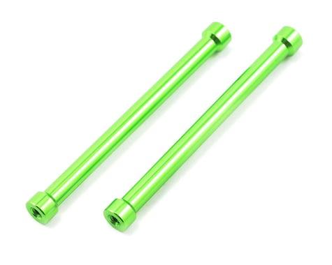 Axial M7x70mm Green Aluminum Post (2): AX10 Scorpion