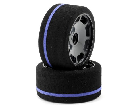 BSR Racing 1/10 World GT Spec Front Tire (Black) (2) (Purple)