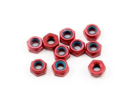 CRC 4-40 Aluminum Locknut (Red) (10)