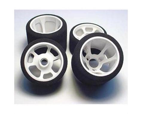 "CRC ""Pro-Cut"" 1/12 Rear Tires (2) (White) (Magenta)"