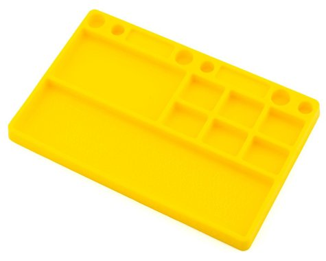 Dirt Racing Rubber Parts Tray (Yellow)