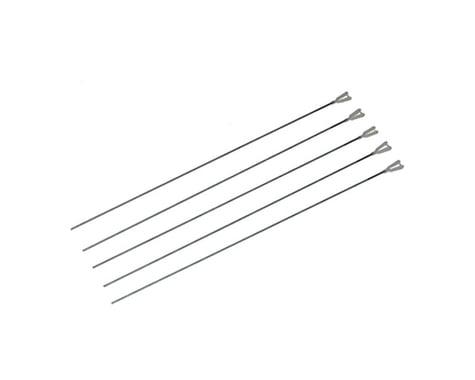 """DuBro 12"""" 2-56 Rod w/ Nylon Kwik-Link (5)"""