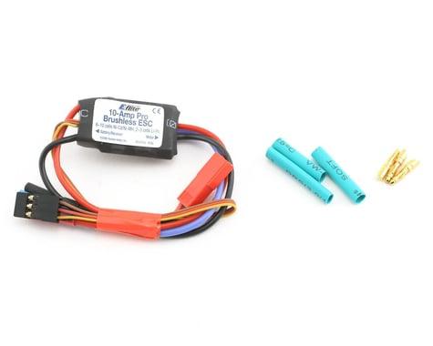 E-flite 10-Amp Pro BEC Brushless ESC: JST