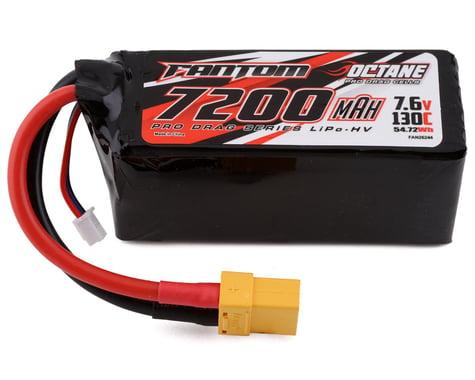 Fantom Pro Drag Octane HV 2S LiPo 130C Battery (7.6/7200mAh)