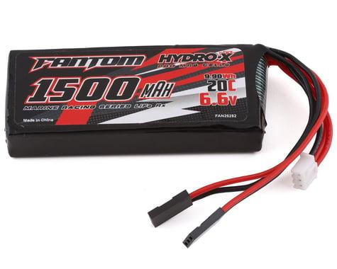 Fantom Marine Racing Series 2S LiFe Receiver Battery Pack (6.6V/1500mAh)