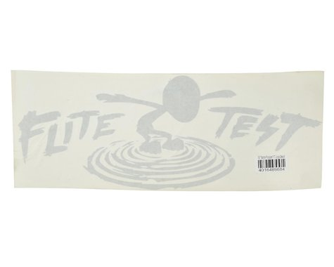 """Flite Test 18"""" FT Logo Decal (Matte Frosted)"""