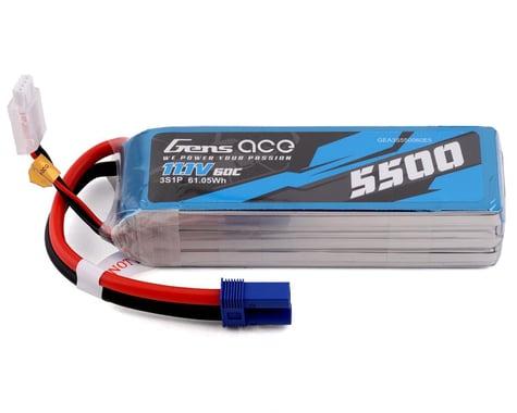 Gens Ace 3s LiPo Battery 60C (11.1V/5500mAh)