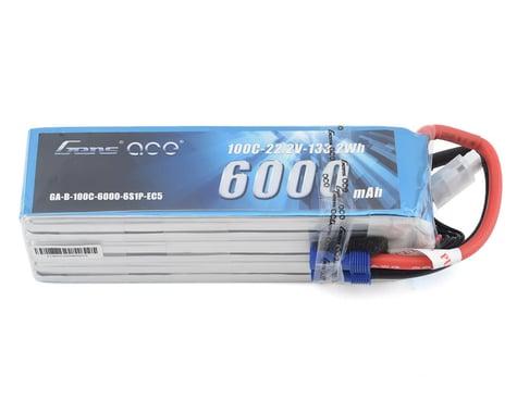 Gens Ace 6S Soft Case 100C LiPo Battery (22.2V/6000mAh)