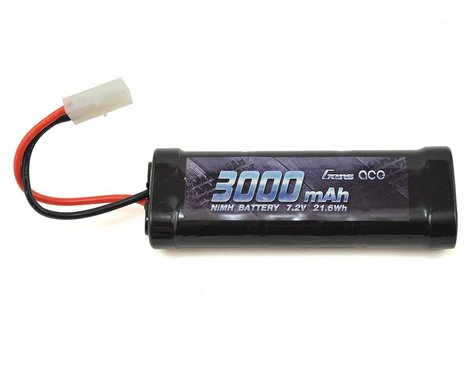Gens Ace 6-Cell 7.2V NiMH Battery Pack w/Tamiya Connector (3000mAh)