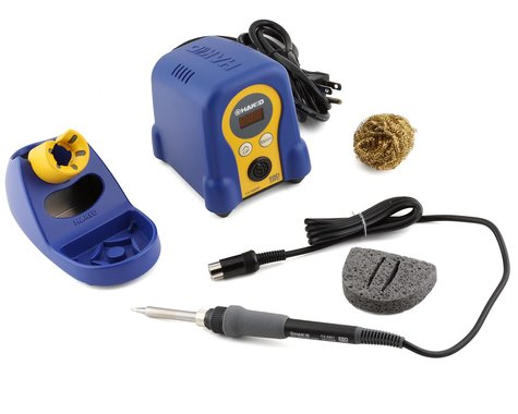 Hakko FX888D ESD Safe Digital Adjustable Temperature Soldering Iron Station