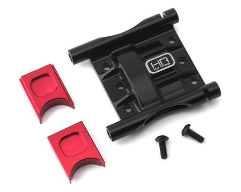 Hot Racing Arrma 6S Aluminum Center Differential Cover EZM Mount (Black)