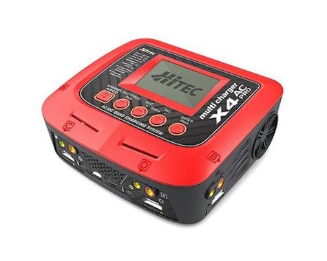 Hitec X4 AC Pro Four Port AC/DC Multicharger (6S/10A/300W)
