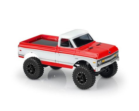 JConcepts Axial SCX24 1970 Chevy K10 Body (Clear)