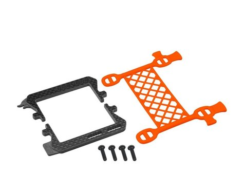 JConcepts B6.2 Cargo Net Battery Brace (Orange)