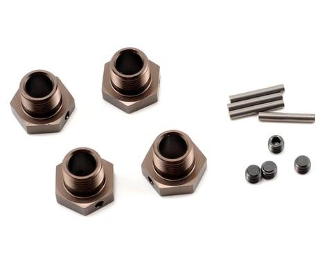 Kyosho 17mm Wheel Hubs (Gunmetal) (4)