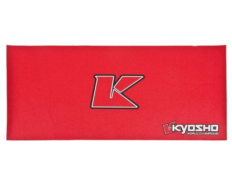 Kyosho Big K 2.0 Pit Mat (Red) (122x61cm)