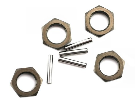 Losi Wheel Nuts & Pins (4ea): 8B,8T