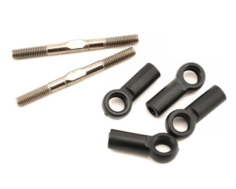 Losi Turnbuckles 5mm x 60mm with Ends: 8B