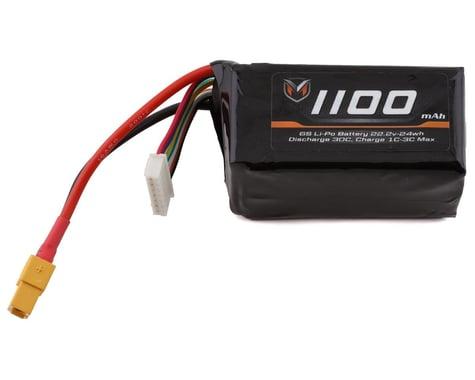 Maclan SSI Series 6S LiPo Battery Pack w/XT60 (22.2V/1100mAh)