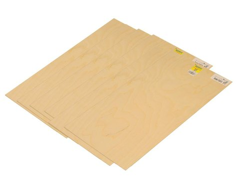 """Midwest 1/8 x 12 x 24"""" Craft Plywood (6)"""