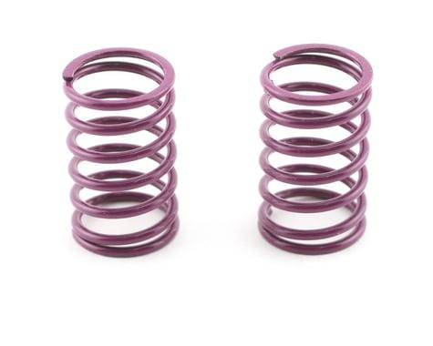 Mugen Seiki Rear Shock Springs 1.6 (Purple) (MTX) (2)