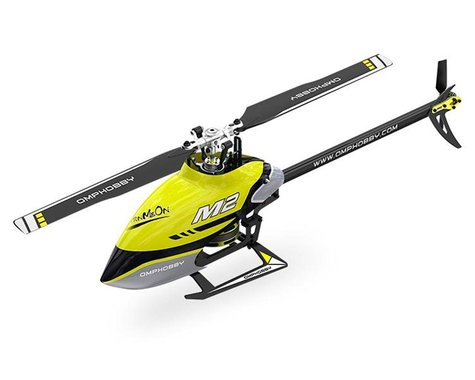 OMP Hobby M2 V2 Electric Helicopter (Yellow)