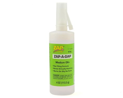 Pacer Technology Zap-A-Gap CA+ Glue (Medium) (4oz)