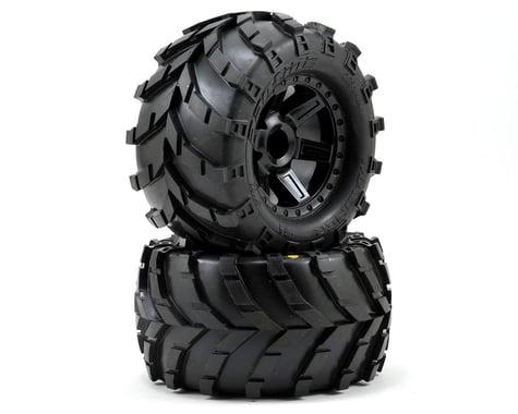 Pro-Line Masher 2.8 w/Desperado Nitro Rear Wheels (2) (Black)