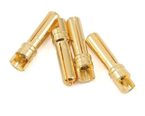 "ProTek RC 4.0mm ""Super Bullet"" Solid Gold Connectors (4 Male)"