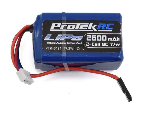 ProTek RC LiPo Kyosho & Tekno Hump Receiver Battery Pack (7.4V/2600mAh)