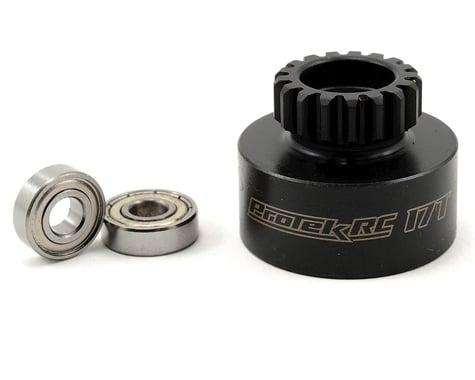 ProTek RC Hardened Clutch Bell w/Bearings (17T) (Mugen/OFNA Style)