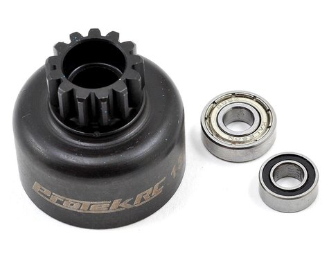 ProTek RC Hardened Clutch Bell w/Bearings (13T) (Losi 8IGHT Style)