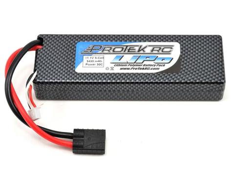 "ProTek RC 3S ""Supreme Power"" Li-Poly 30C Battery Pack (11.1V/3400mAh w/Traxxas Connector)"