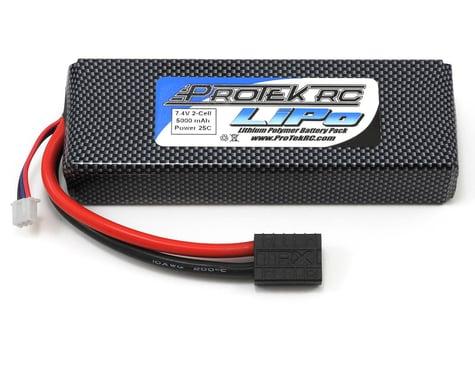 "ProTek RC 2S ""Sport Race"" Li-Poly 25C Battery Pack (7.4V/5000mAh, w/Traxxas Connector)"