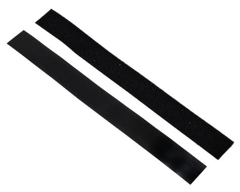 Pure-Tech Super Stick Low Profile Hook & Loop Strap Set (Black) (1 Hook/1 Loop)