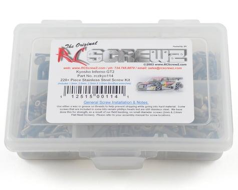 RC Screwz Kyosho Inferno GT 2 Stainless Steel Screw Kit