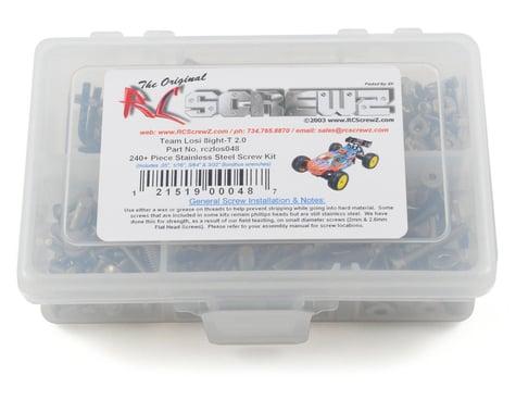 RC Screwz Losi 8ight T 2.0 Stainless Steel Screw Kit
