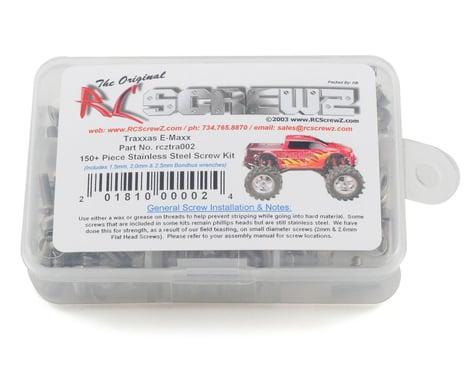 RC Screwz Traxxas E-Maxx Stainless Steel Screw Kit
