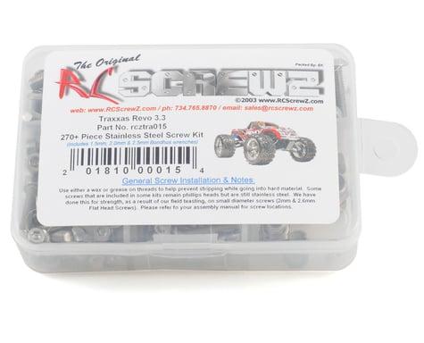 RC Screwz Traxxas Revo 3.3 Stainless Steel Screw Kit