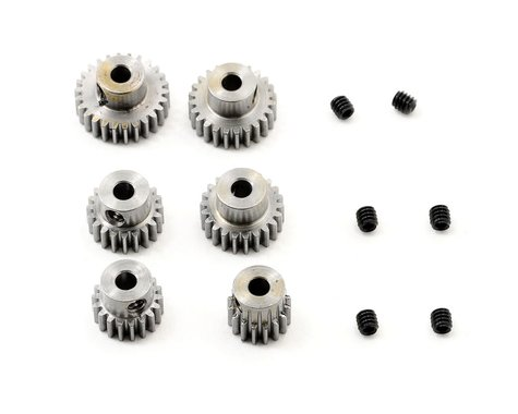 """Robinson Racing """"Six Pack"""" 48P Even Pinion Pack (16,18,20,22,24,26T)"""