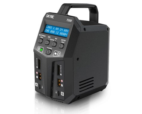 SkyRC T200 Dual AC/DC Battery Charger (6S/10A/100W)