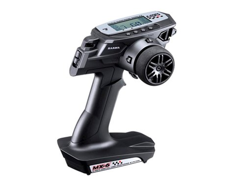 Sanwa/Airtronics MX-6 FH-E 3-Channel 2.4GHz Radio System
