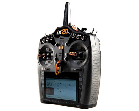 Spektrum RC iX20 2.4GHz DSMX 20-Channel Radio System (Transmitter Only)