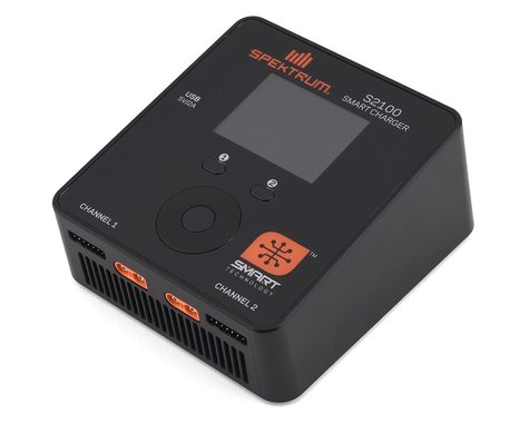 Spektrum RC Smart PowerStage 4S Bundle w/Two 2S Smart LiPo Hard Case Batteries