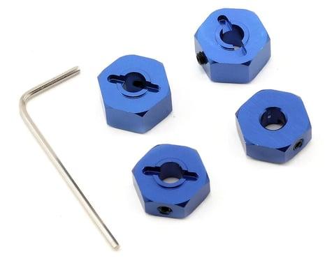 ST Racing Concepts 14mm Aluminum Wheel Hex (Blue) (4)