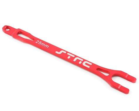 ST Racing Concepts Aluminum Battery Strap (Red)