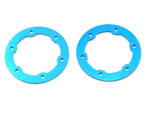 ST Racing Concepts Aluminum Beadlock Rings (Blue) (2)