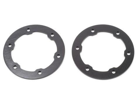 ST Racing Concepts Aluminum Beadlock Rings (Black) (2)
