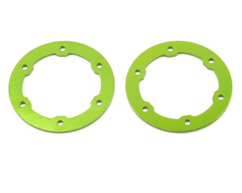 ST Racing Concepts Aluminum Beadlock Rings (Green) (2)